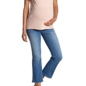 Seven7 | Over The Belly Flared Jeans (Maternity)
